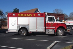WJFD Squad 1 truck facing right