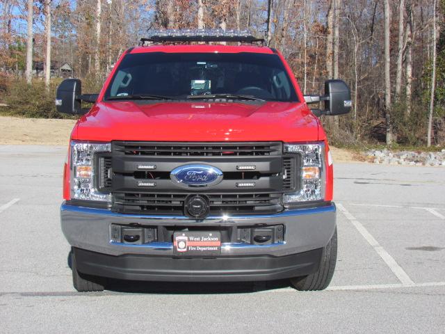 WJFD Red Pickup Front