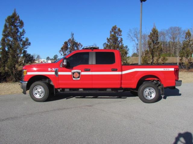 WJFD S-3 Fire pickup truck facing left