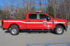 WJFD S-3 Fire Pickup Truck facing right