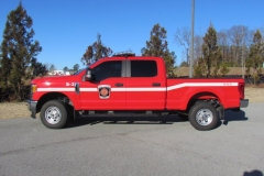 WJFD S-3 Fire pickup truck facing left