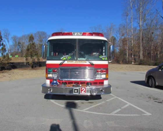Engine 2 front